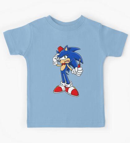 Sonic Screwdriver Kids Tee