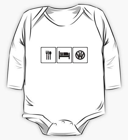 Eat Sleep VW One Piece - Long Sleeve