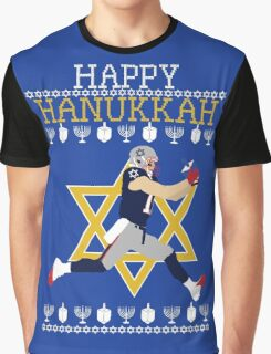Yalla It's Hanukkah Graphic T-Shirt