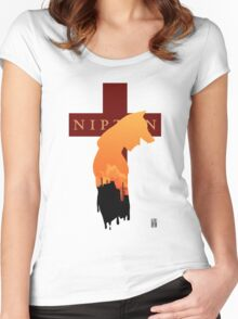 Welcome to Nipton Women's Fitted Scoop T-Shirt