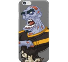 Blue Zombie iPhone Case/Skin