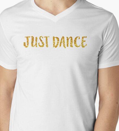 Just Dance Mens V-Neck T-Shirt