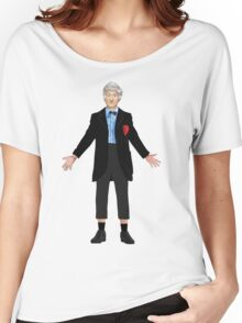 Regenerated 3rd Doctor Women's Relaxed Fit T-Shirt