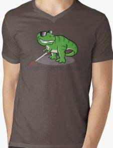 Doyouthinkhesaurus Mens V-Neck T-Shirt