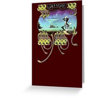Yes - Yessongs Greeting Card