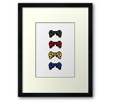 PS3 Bowtie and Company Framed Print
