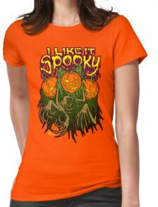 I Like It Spooky Womens Fitted T-Shirt