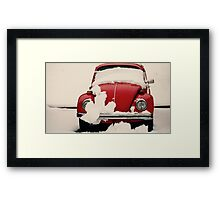 Winter Reds Framed Print