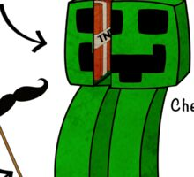 Minecraft Creeper - WANTED! Sticker
