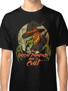 Cult of the Great Pumpkin: Witch Mask Classic T-Shirt