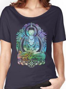 Gautama Buddha Cool Galaxy Women's Relaxed Fit T-Shirt