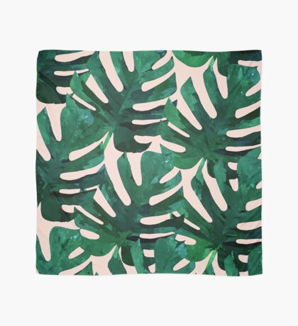 Monstera Pattern #Redbubble #decor #lifestyle Scarf