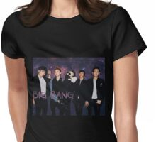 Big Bang in the Stars Womens Fitted T-Shirt