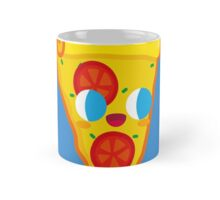 Happy Pizza Face Mug