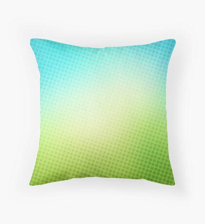 abstract halftone design Throw Pillow