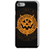 Cult of the Great Pumpkin: Alchemy Logo iPhone Case/Skin