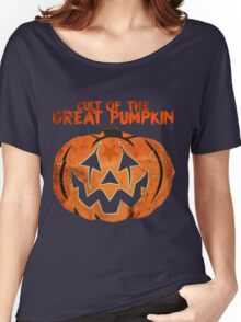 Cult of the Great Pumpkin: Mask Women's Relaxed Fit T-Shirt