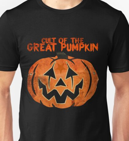 Cult of the Great Pumpkin: Mask T-Shirt