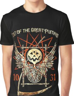 Cult of the Great Pumpkin: Thanatos Hourglass Graphic T-Shirt