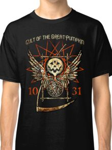 Cult of the Great Pumpkin: Thanatos Hourglass Classic T-Shirt