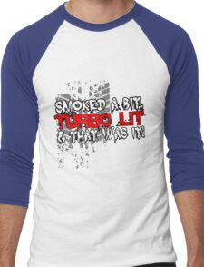 smoked Men's Baseball ¾ T-Shirt