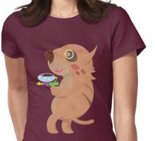 Rodent Thing with a Squirt Gun Womens Fitted T-Shirt