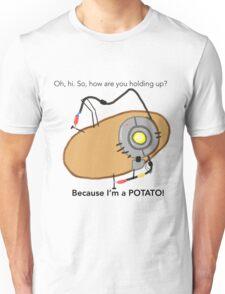 GladOs Potato Unisex T-Shirt
