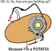 GladOs Potato by terezaljubicic
