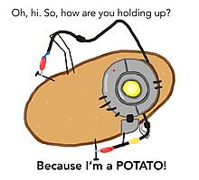 GladOs Potato Photographic Print
