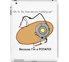 GladOs Potato iPad Case/Skin
