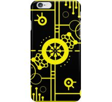 Black and Yellow Pop Design iPhone Case/Skin