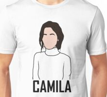 Outline of Camila Cabello Unisex T-Shirt
