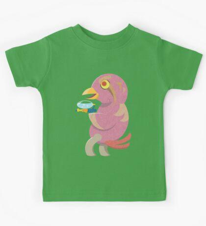 Bird Thing with a Squirt Gun Kids Tee