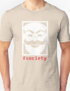FSociety funny nerd geek geeky T-Shirt
