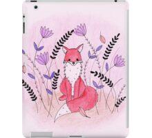 Beautiful Fox in the Garden iPad Case/Skin