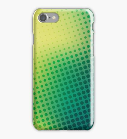 abstract colorful halftone design iPhone Case/Skin