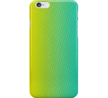 abstract halftone design iPhone Case/Skin