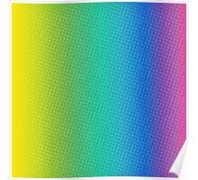 abstract halftone design Poster