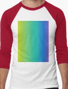 abstract halftone design Men's Baseball ¾ T-Shirt