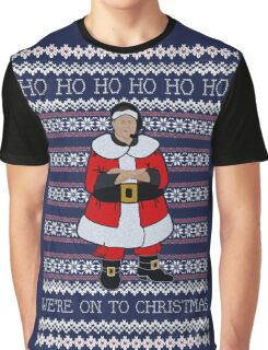 We're Onto Christmas Graphic T-Shirt