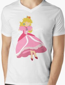 Smash Bros - Peach Mens V-Neck T-Shirt