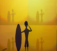"""Surf Dreamer"" Australia by EJCairns"