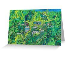 jennifer's house, eight rivers of light Greeting Card
