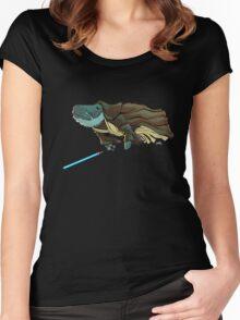 O.B. 1 Kenobi Women's Fitted Scoop T-Shirt