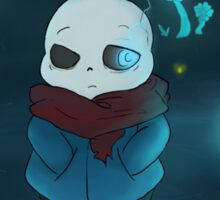 sans and the echo flowers Sticker