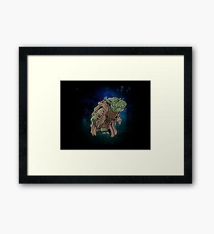Yoda Framed Print