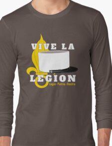 Foreign Legion - Vive la Légion & Képi blanc Long Sleeve T-Shirt