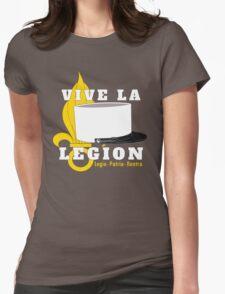 Foreign Legion - Vive la Légion & Képi blanc Womens Fitted T-Shirt