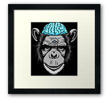 Ice Brains Framed Print