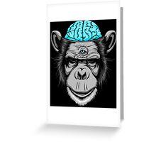 Ice Brains Greeting Card